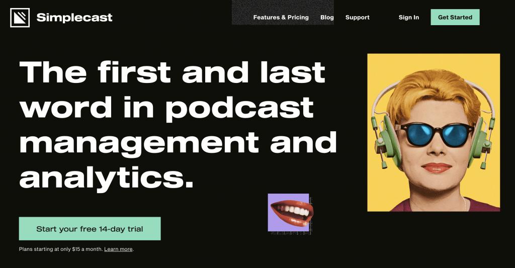 Simplecast hosting