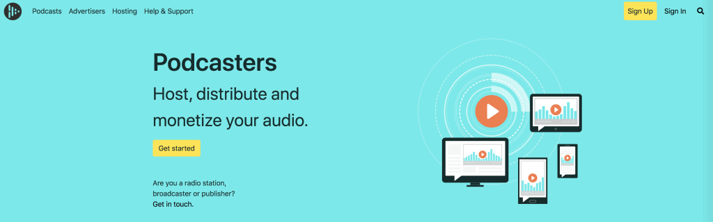 Audioboom host distribute podcasters