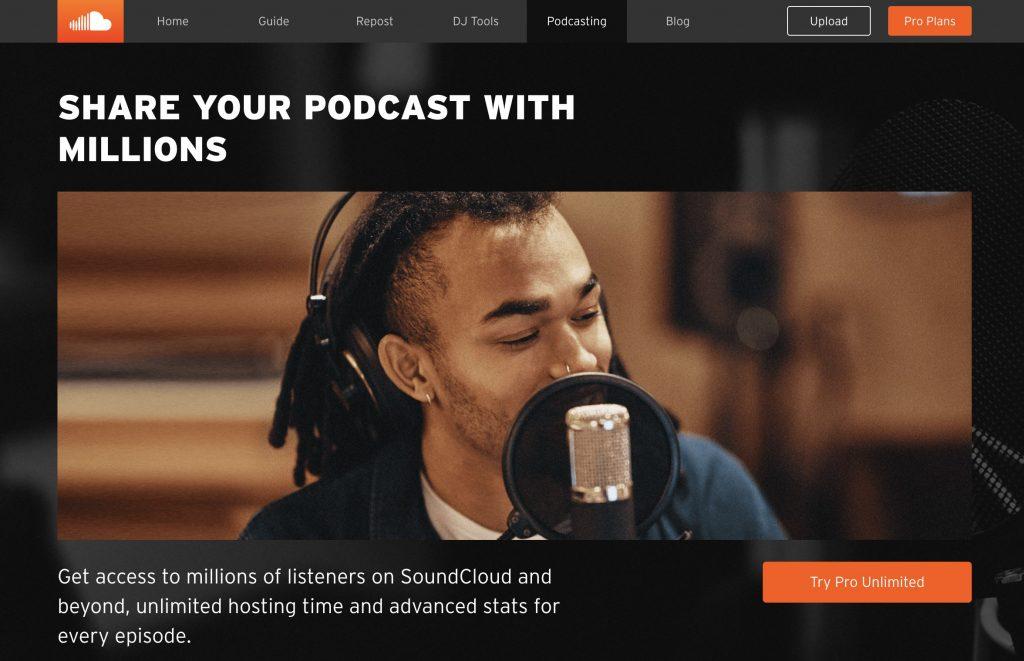 SoundCloud vs Podbean hosting