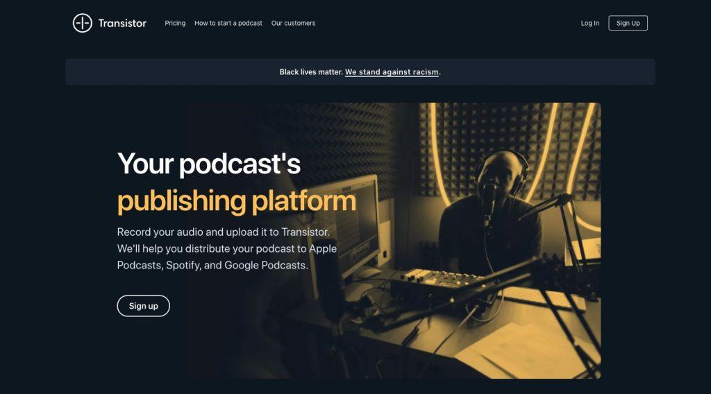 Transistor Podcast Hosting Review