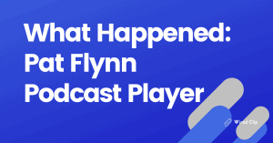 Pat Flynn podcast player