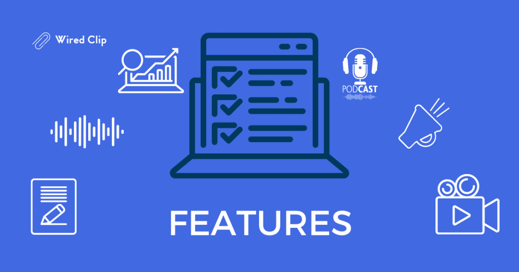 Podcast Software and hosting features