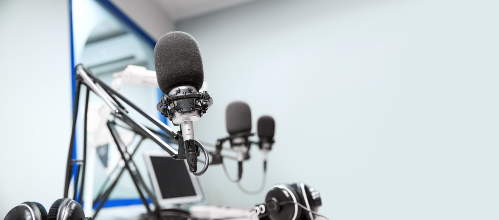 Microphones in a Podcast Setup