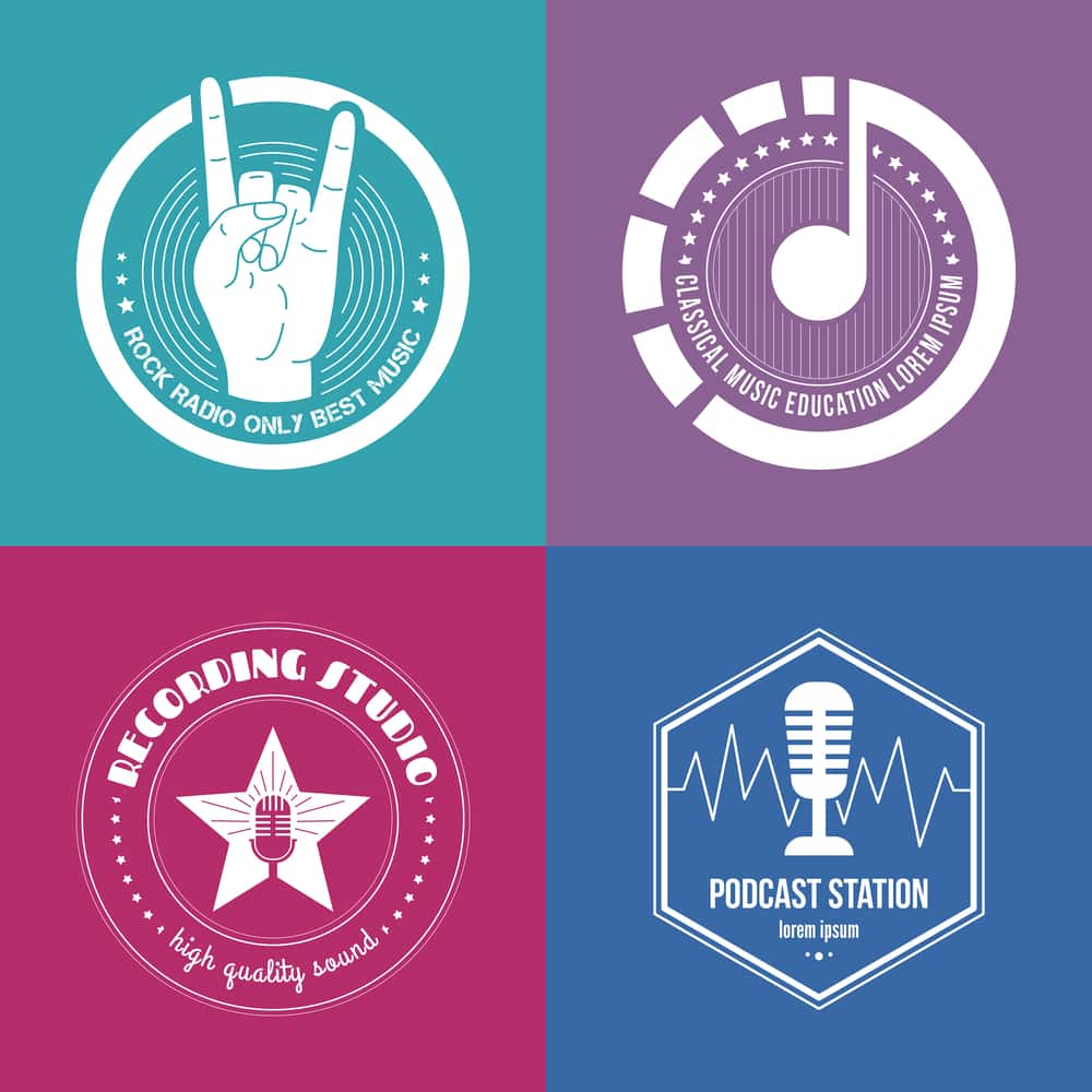 Podcast Logos and Artwork selection